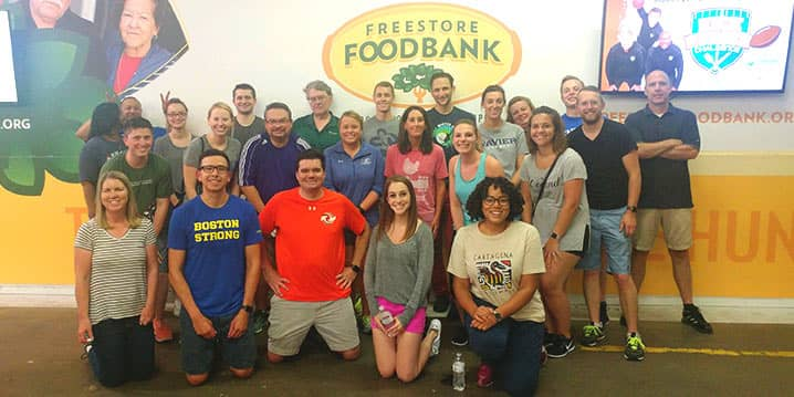 FWIA Volunteer Group for Freestore Foodbank