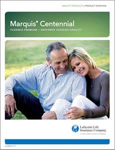 marquis centennial flexible premium deferred indexed  annuity brochure