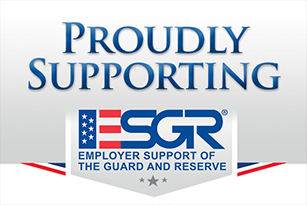 Employer Support of the Guard and Reserve (ESGR) logo