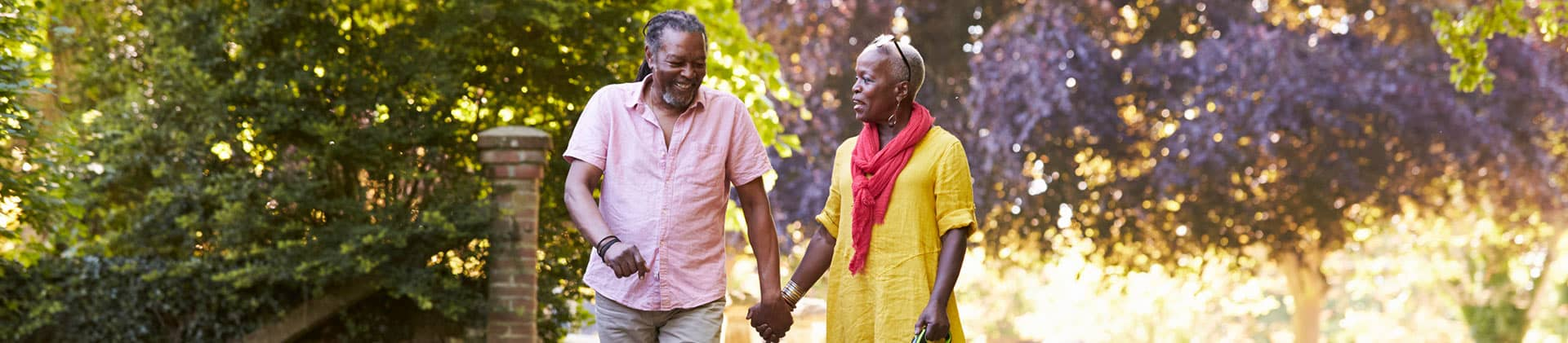 Couple Holding Hands Trees Product Fixed Annuities Indextra