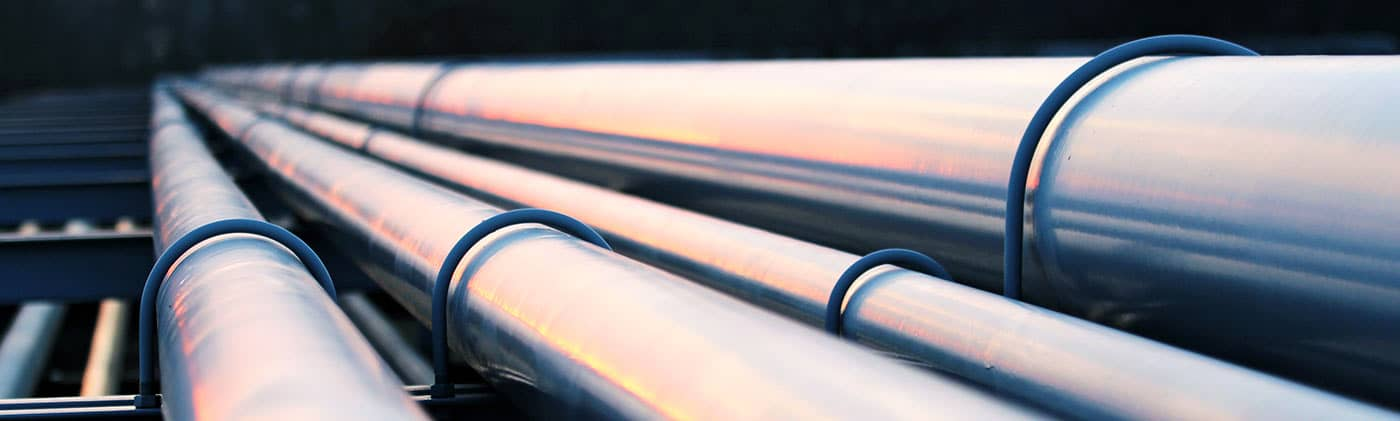 Crude oil pipes - Midstream Energy