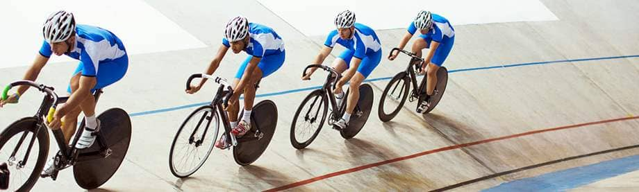 indoor cycling race