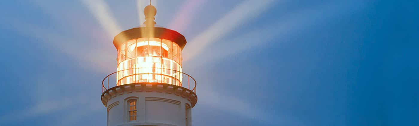 lighthouse - market signals an end to the Trump bump