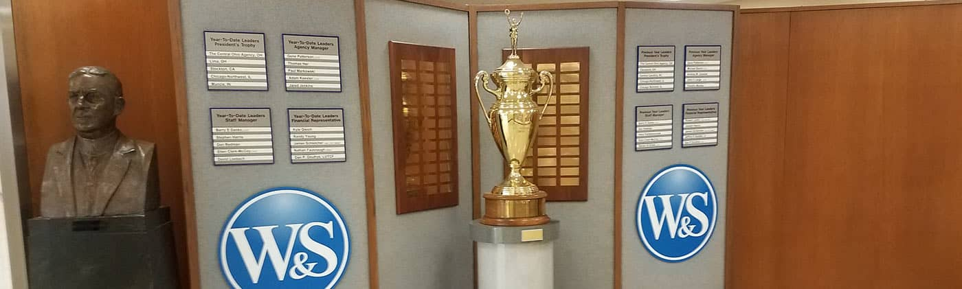 Presidents Trophy in Lobby