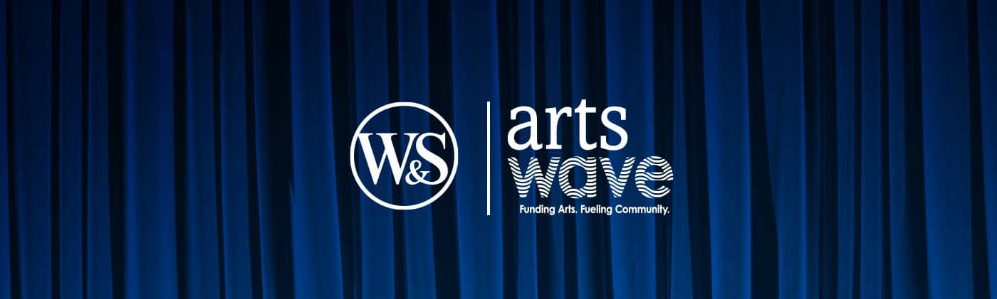 ArtsWave logo with WS logo