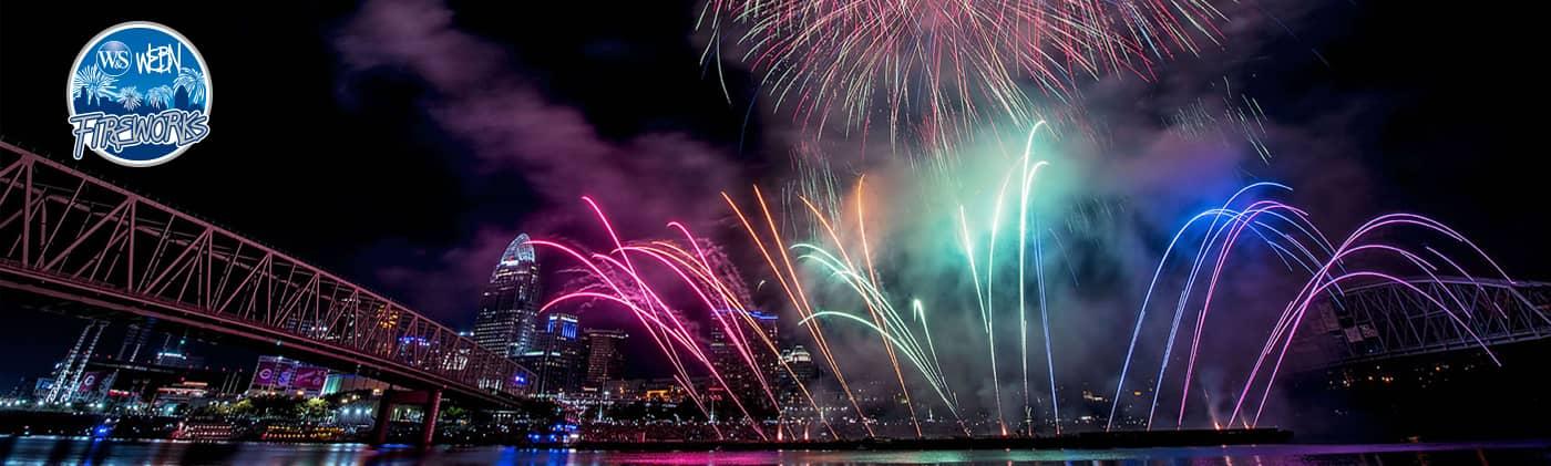 Western & Southern/WEBN Fireworks Entertains Hundreds of